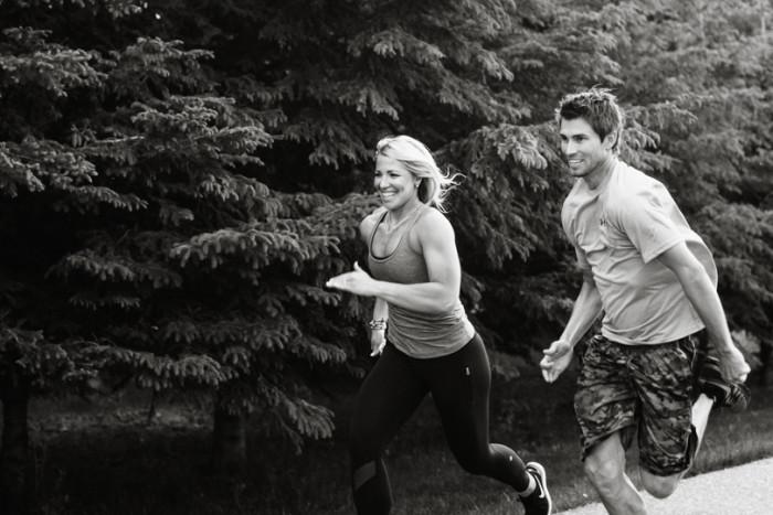 Wellness 101 - Jon and Heather running